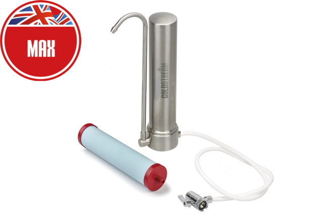 Coldstream stainless steel countertop housing tube max
